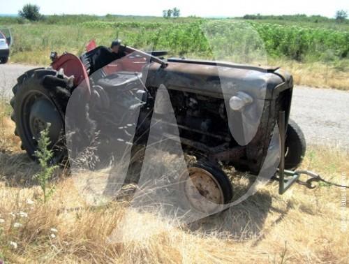 VRSAC - Zapaljen traktor na kom je poginuo Dorin Lacku - 04.07.2012