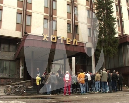 protest hotel