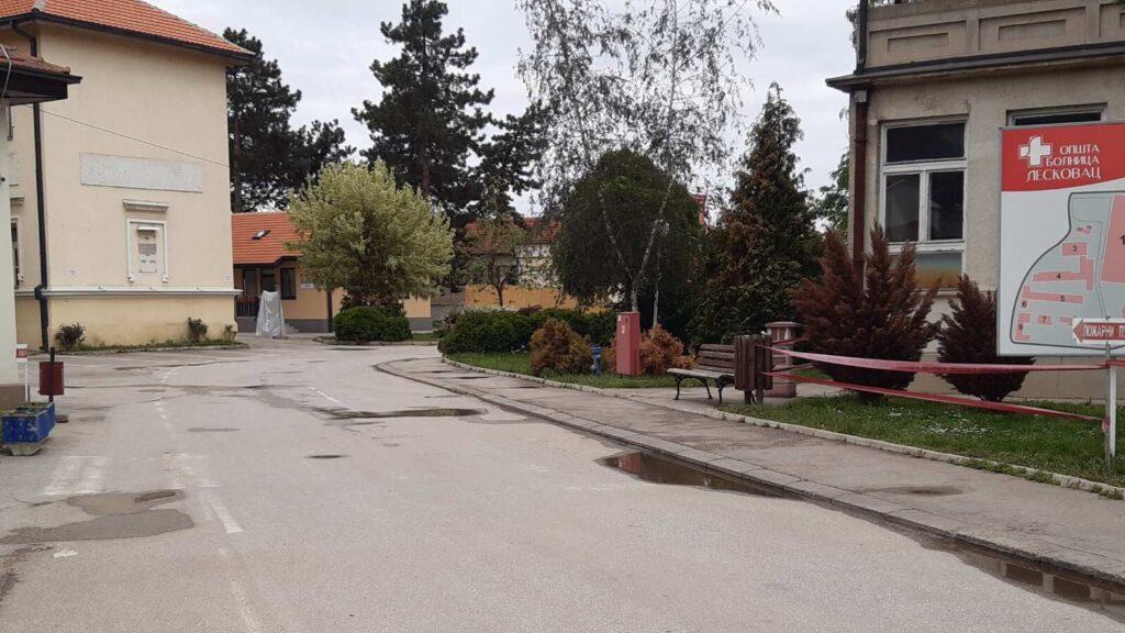 U leskovačkoj Kovid bolnici preminula 5 pacijenata, hospitalizovano 155 osoba